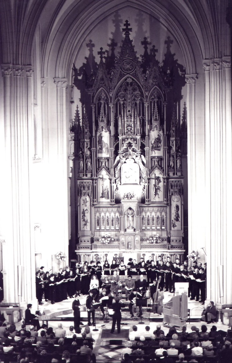 "Concierto ""Musikalische Exequien"" de Schütz. Iglesia Perpetuo Socorro (Madrid),"