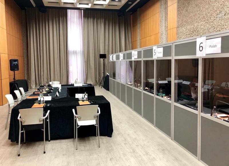 Comité de empresa europeo traducción simultánea 6 idiomas