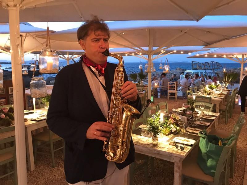 Saxofonista Bodas Eventos Weddings Islas baleares Valencia Ibiza Formentera