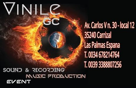 Vinile GC presta servicio en la subcategoría de Orquestas, cantantes y grupos en Las Palmas