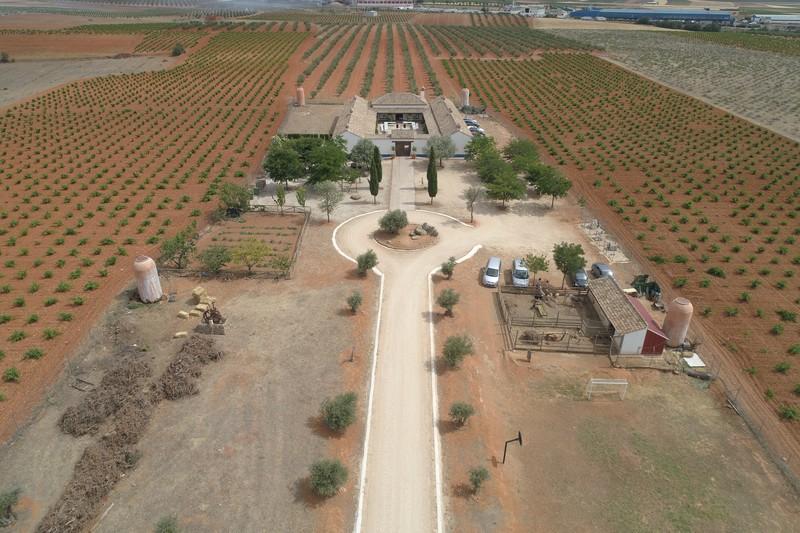 Imagen Finca Boda con dron