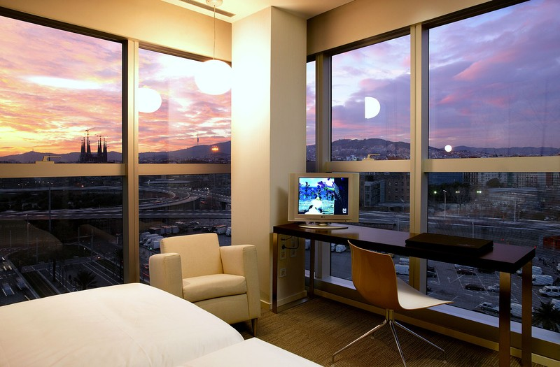 Vistas desde una habitación del Hotel