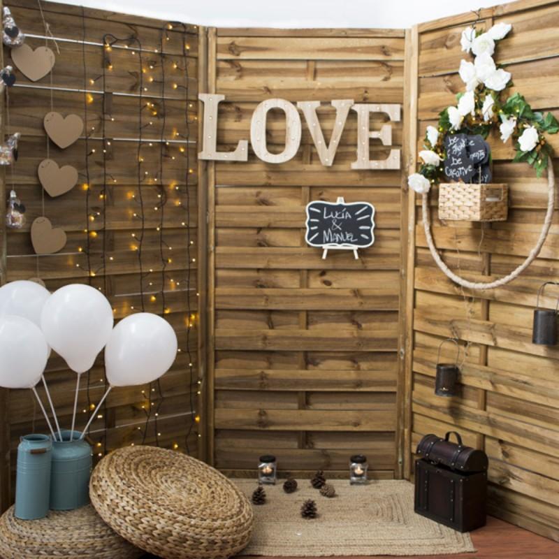Fotocall Personalizado LOVE y Globos