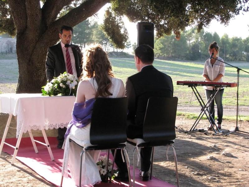 La ceremonia de Berta&Jose