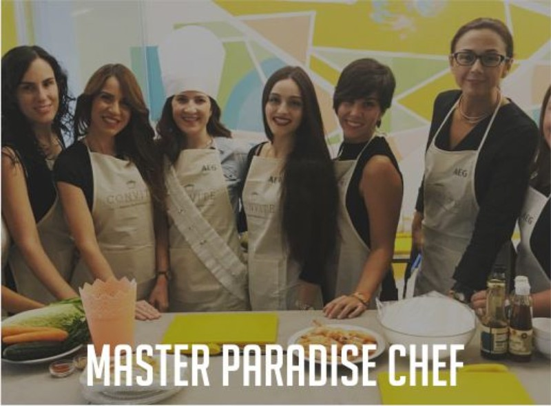Master Paradise Chef Paradise Events Despedida de Soltera y Soltero Madrid