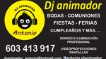 Dj animador Antonio
