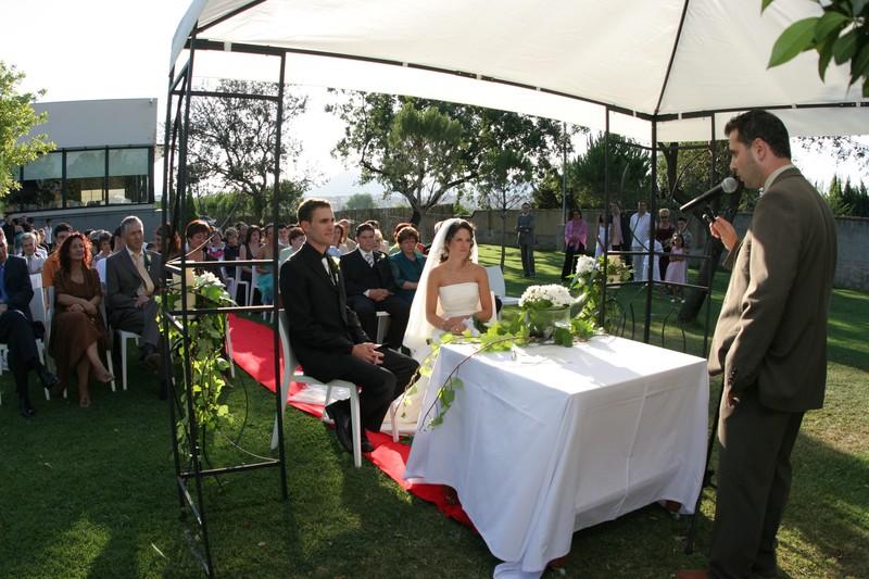 La ceremonia de Montse & Sergi