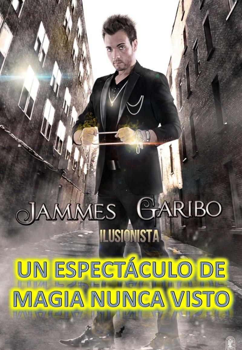 MAGIA DE GRANDES ILUSIONES JAMMES GARIBO