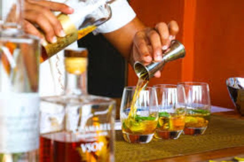 Servicio de cocteleria, bartender Vipparty