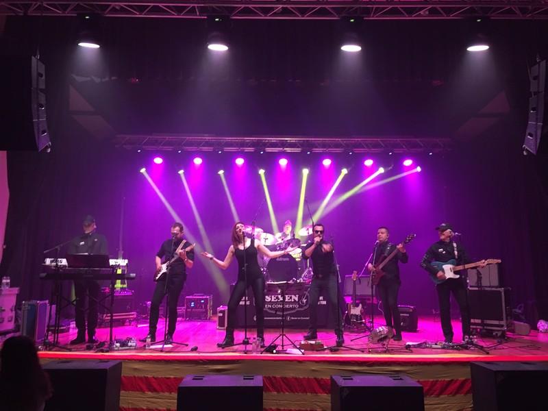SEVEN en concierto Directo4