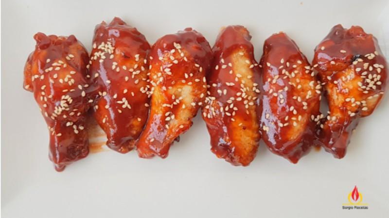 alitas de pollo barbacoa caseras chupa-dedos