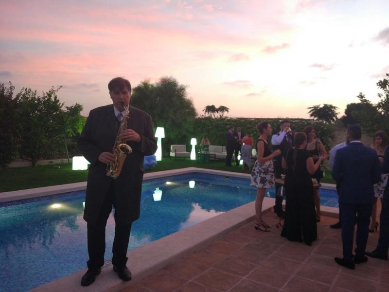 Saxofonista Sax Weddings Chill Out Valencia Ibiza Formentera Summer