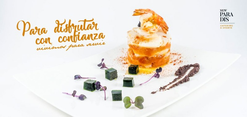 Gastronomía - New Paradis Catering