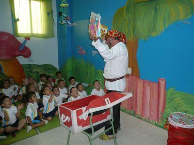Pirata de los cuentos / Payaso Pepón presta servicio en la subcategoría de Animadores infantiles en Las Palmas