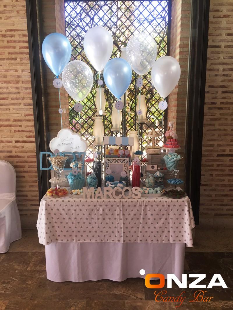 Candy Bar Bautizo Niño