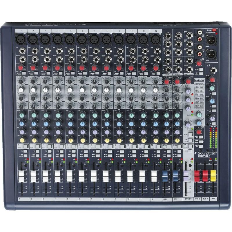 Mesa de mezclas 12 canales
