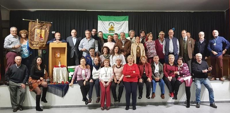 Con nuestros amigos y familiares. Día de Andalucía