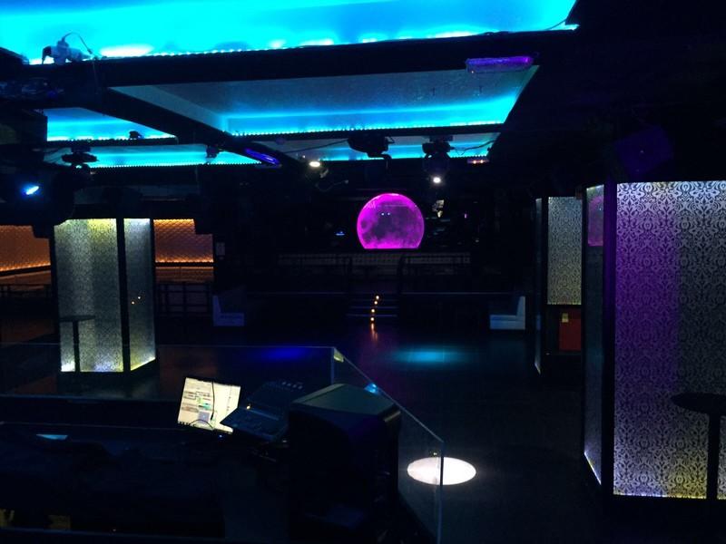 Vista desde Escenario - DJ
