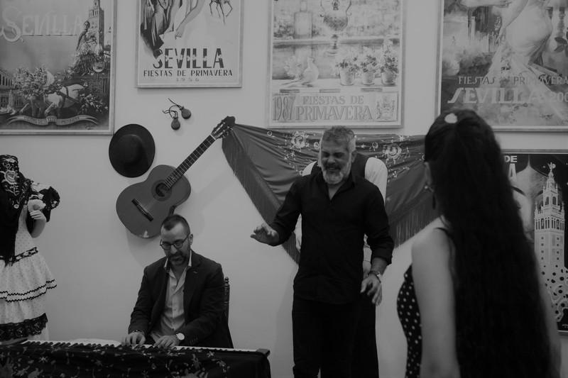 Grupo de flamenco
