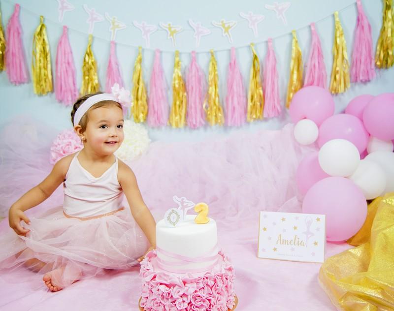 Smash Cake Bailarina