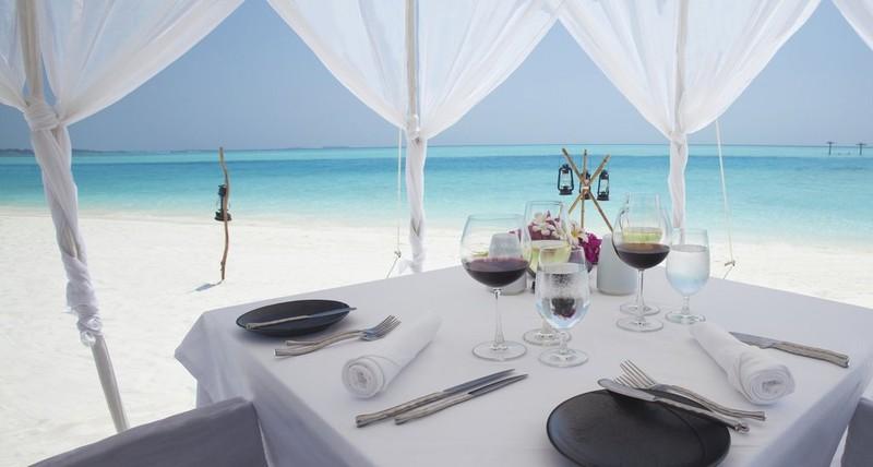 Almuerzo en la playa