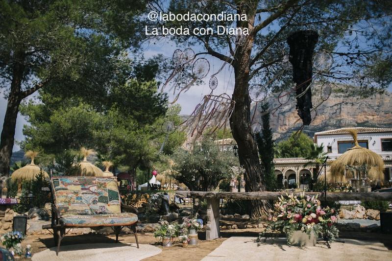 Boda campestre en Alicante