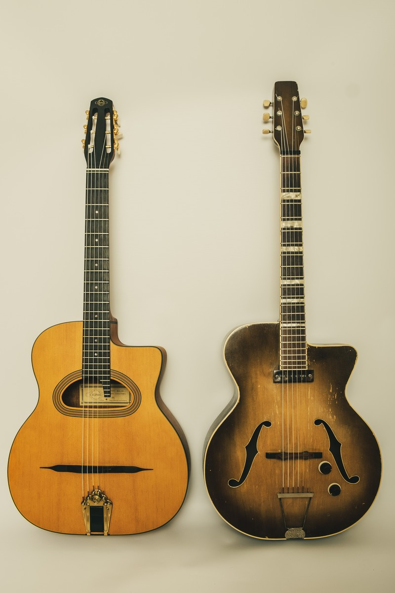 Guitarras manouche