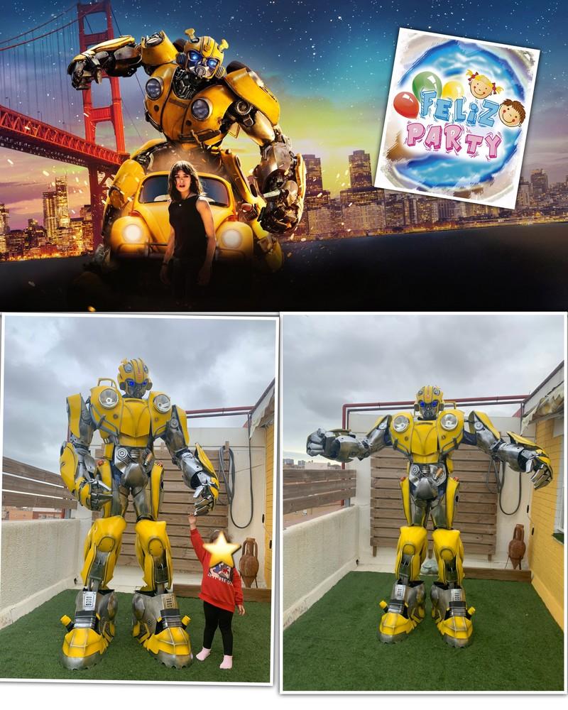 Transformer animación a lo grande