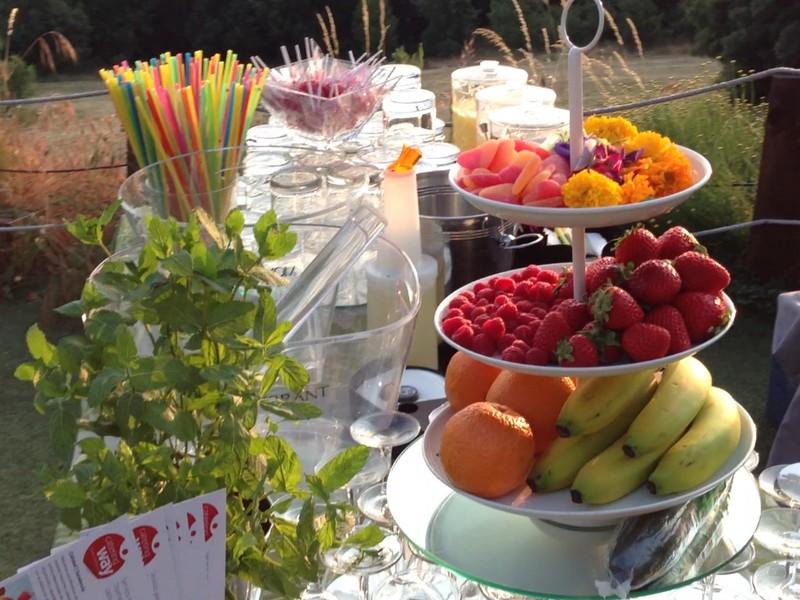 Cocteleria con fruta