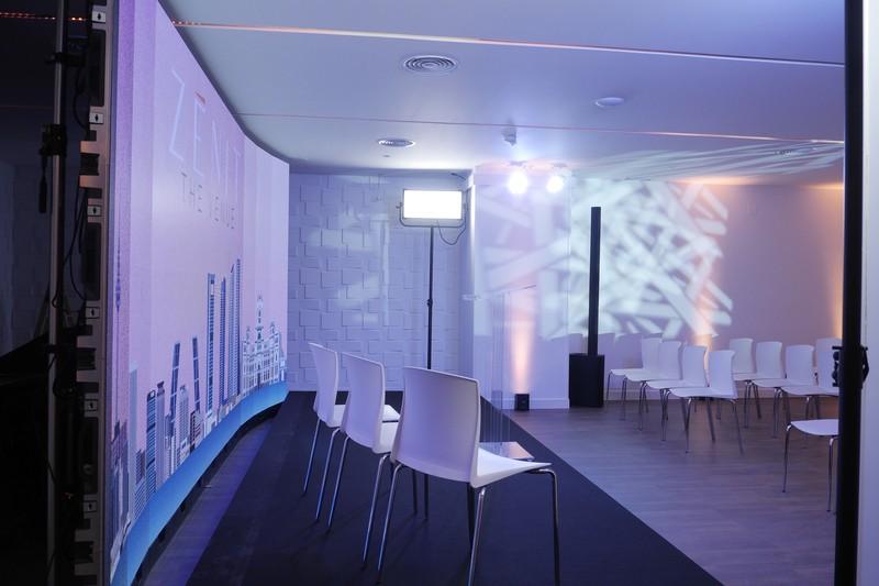 Gran pantalla LED
