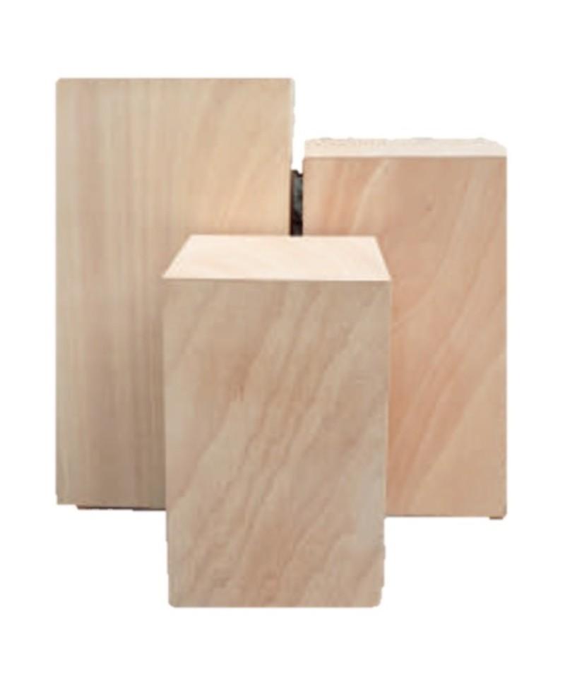 Pedestales de alquiler en madera