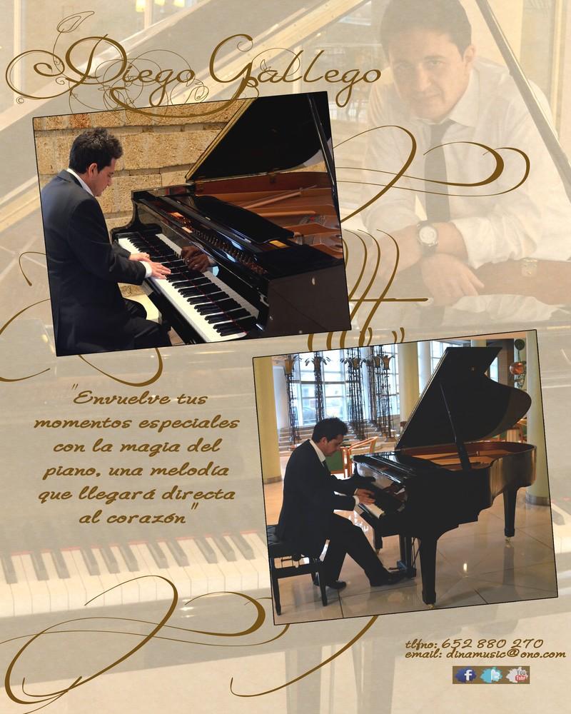 Pianista para eventos Diego Gallego