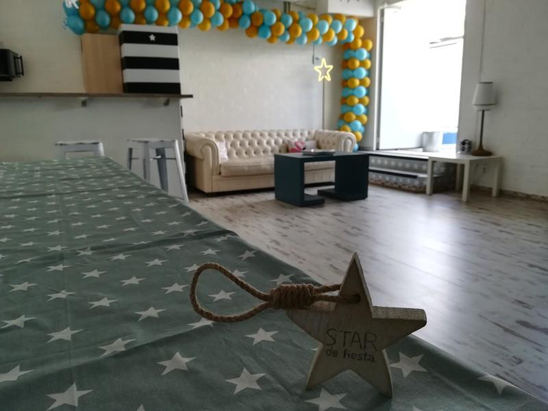 Sala 3 con parque infantil