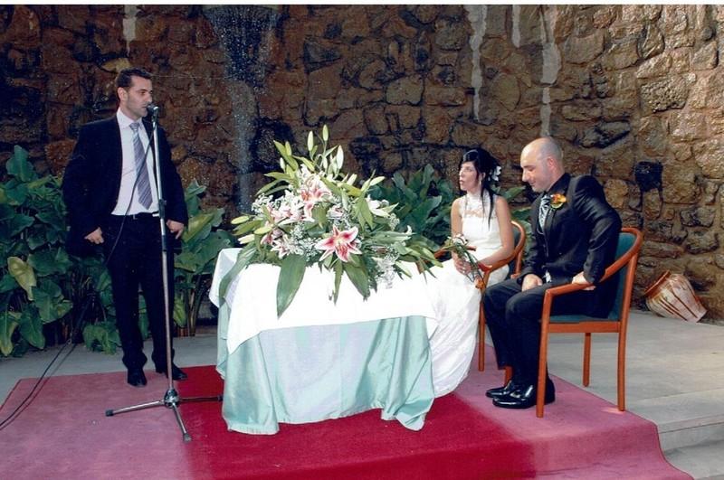 La ceremonia de Marta & David