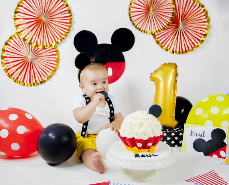 Smash Cake Mickey Mousse