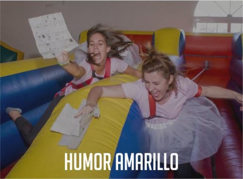 Humor Amarillo Paradise Events Despedida de Soltera y Soltero Finca Navalcarnero