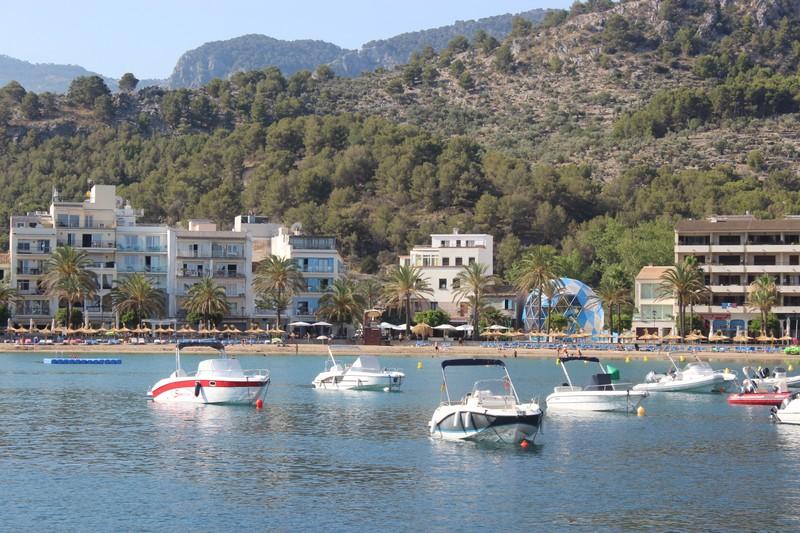 Bungydome desde el mar ,Port Sóller