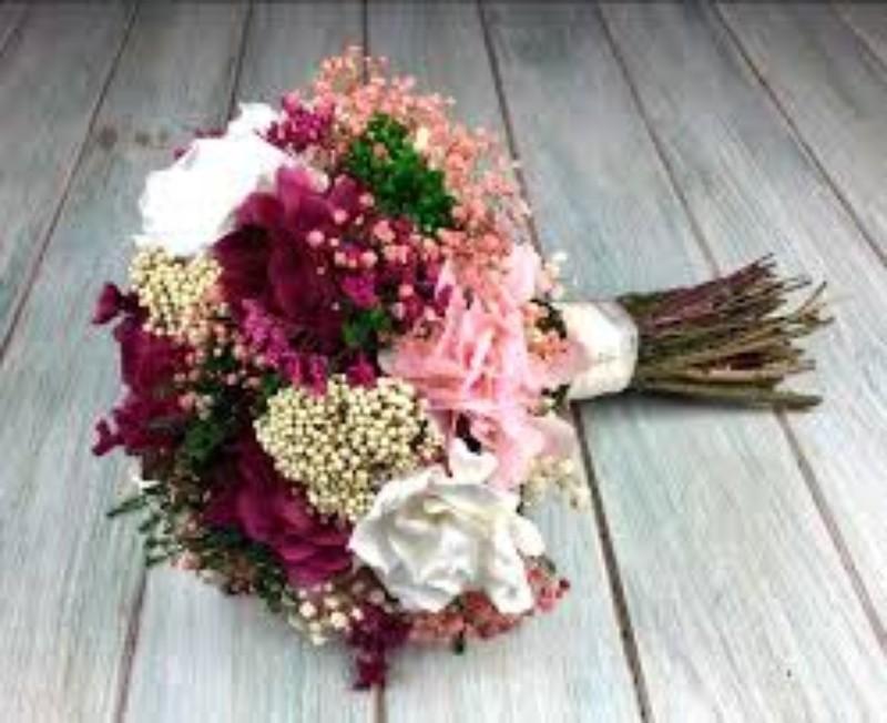 bouquet de flor preservada