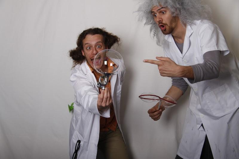 El profesor Chuf y Elmer